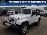 2012 Bright White Jeep Wrangler Sahara 4x4 #84518440