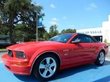 2006 Torch Red Ford Mustang GT Premium Convertible #84518352