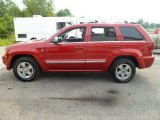 2006 Inferno Red Crystal Pearl Jeep Grand Cherokee Overland 4x4 #84518749