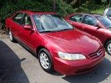2002 Firepepper Red Pearl Honda Accord SE Sedan #84518423