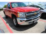 2012 Victory Red Chevrolet Silverado 1500 LS Regular Cab #84518740