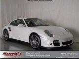 2007 Carrara White Porsche 911 Turbo Coupe #84518494
