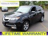2011 Crystal Black Pearl Acura MDX  #84518324