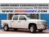 2013 Summit White Chevrolet Silverado 1500 LT Crew Cab 4x4 #84518570