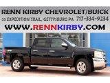 2013 Black Chevrolet Silverado 1500 LT Crew Cab 4x4 #84518568