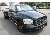 2007 Brilliant Black Crystal Pearl Dodge Ram 3500 Sport Quad Cab 4x4 Dually #84565574