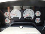 2007 Dodge Ram 3500 Sport Quad Cab 4x4 Dually Gauges