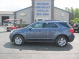 2013 Atlantis Blue Metallic Chevrolet Equinox LT AWD #84565877