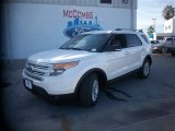 2014 White Platinum Ford Explorer XLT #84565244