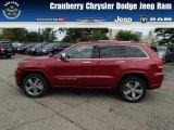 2014 Deep Cherry Red Crystal Pearl Jeep Grand Cherokee Overland 4x4 #84565312