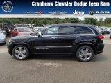 2014 Brilliant Black Crystal Pearl Jeep Grand Cherokee Overland 4x4 #84565307