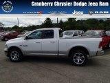2014 Bright White Ram 1500 Laramie Quad Cab 4x4 #84565305