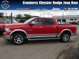 2014 Flame Red Ram 1500 Laramie Crew Cab 4x4 #84565304