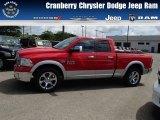 2014 Flame Red Ram 1500 Laramie Quad Cab 4x4 #84565303