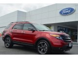 2014 Ruby Red Ford Explorer Sport 4WD #84565410