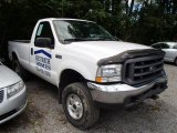 2004 Oxford White Ford F250 Super Duty XL Regular Cab 4x4 #84565204