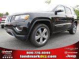 2014 Brilliant Black Crystal Pearl Jeep Grand Cherokee Limited #84565393
