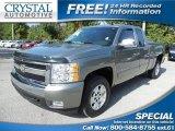 2008 Graystone Metallic Chevrolet Silverado 1500 LT Extended Cab #84565725