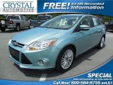 2012 Frosted Glass Metallic Ford Focus SEL Sedan #84565724