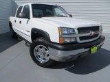 2003 Summit White Chevrolet Silverado 1500 LT Crew Cab 4x4 #84565503
