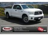 Super White Toyota Tundra in 2013