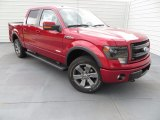 2013 Ruby Red Metallic Ford F150 FX4 SuperCrew 4x4 #84565491