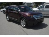 2011 Bordeaux Reserve Red Metallic Ford Explorer Limited 4WD #84565693