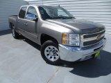 2013 Mocha Steel Metallic Chevrolet Silverado 1500 LT Crew Cab #84565482