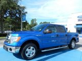 2010 Blue Flame Metallic Ford F150 XLT SuperCrew #84617657
