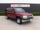 2004 Sport Red Metallic Chevrolet Tahoe LS #84617927