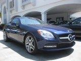 2013 Mercedes-Benz SLK designo Mystic Blue