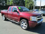 2009 Chevrolet Silverado 1500 Dark Cherry Red Metallic