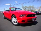 2012 Race Red Ford Mustang V6 Convertible #84617994