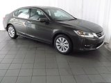 2013 Hematite Metallic Honda Accord EX-L V6 Sedan #84617528