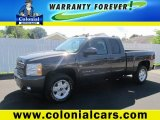 2010 Taupe Gray Metallic Chevrolet Silverado 1500 LT Extended Cab 4x4 #84618150
