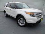 2013 Oxford White Ford Explorer XLT #84617854