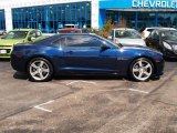 2010 Imperial Blue Metallic Chevrolet Camaro SS Coupe #84617580
