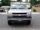 2001 Light Pewter Metallic Chevrolet Silverado 1500 Regular Cab 4x4 #84618138