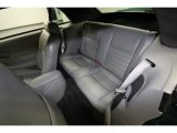 2000 Ford Mustang GT Convertible Rear Seat