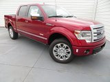 2013 Ruby Red Metallic Ford F150 Platinum SuperCrew 4x4 #84617841