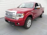 Ruby Red Metallic Ford F150 in 2013