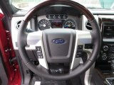 2013 Ford F150 Platinum SuperCrew 4x4 Steering Wheel