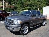 2007 Mineral Gray Metallic Dodge Ram 1500 SLT Quad Cab 4x4 #84669466