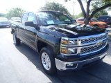 2014 Black Chevrolet Silverado 1500 LT Double Cab #84669644