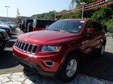 2014 Deep Cherry Red Crystal Pearl Jeep Grand Cherokee Laredo 4x4 #84669461