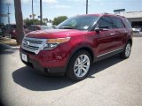 2014 Ruby Red Ford Explorer XLT #84669095