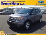 2013 Sterling Gray Metallic Ford Explorer Limited 4WD #84669368