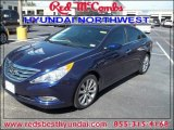 2013 Indigo Night Blue Hyundai Sonata SE #84669083