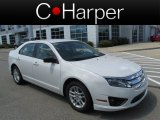 2011 White Suede Ford Fusion S #84668996