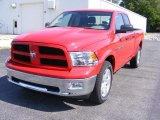 2012 Dodge Ram 1500 Outdoorsman Quad Cab 4x4 Data, Info and Specs